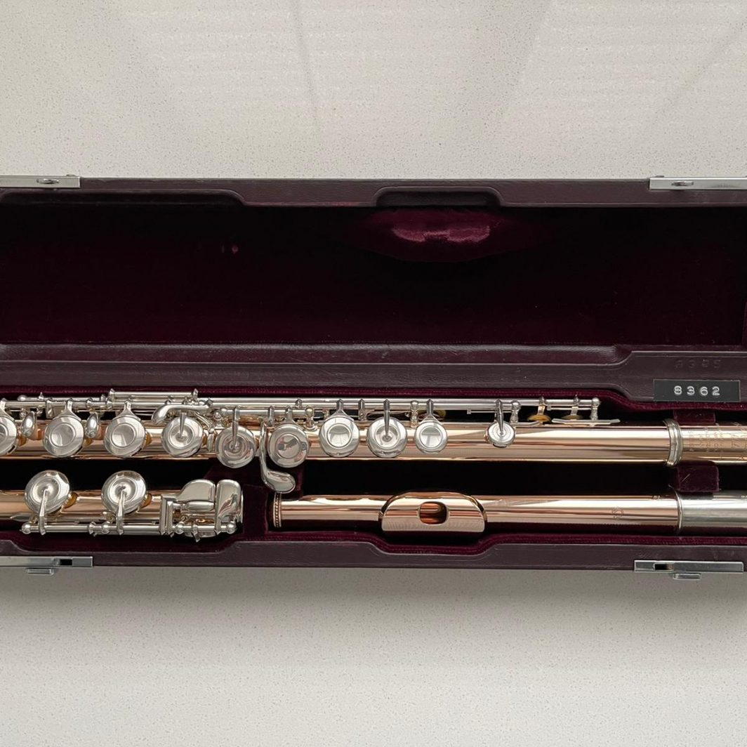 MURAMATSU 9K SOLID GOLD CLOSED-HOLE FLUTE FOR SALE