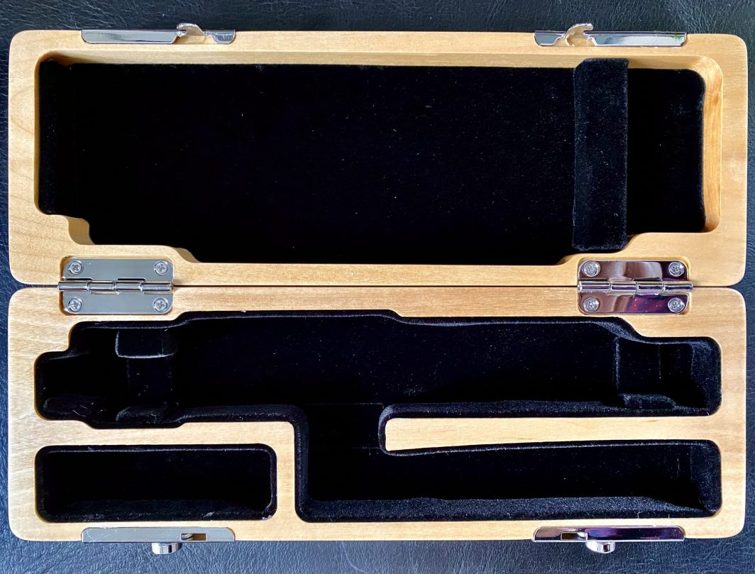 Wooden piccolo case for sale