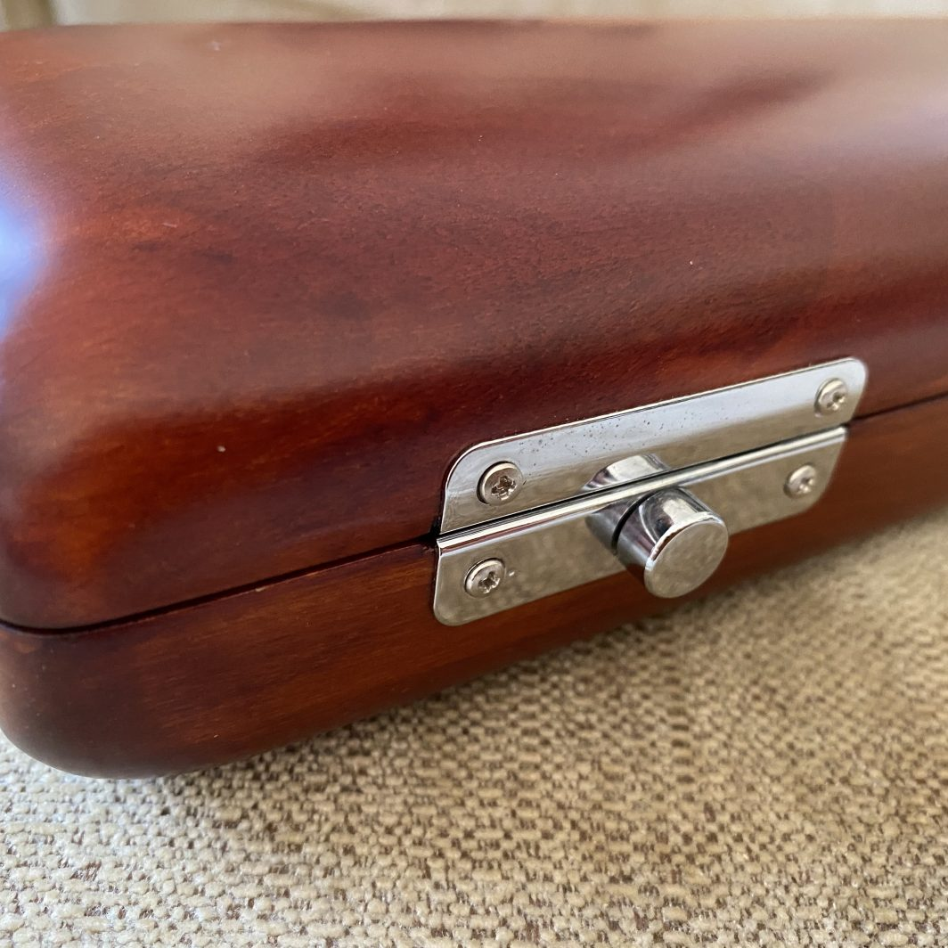 New wooden flute case for sale