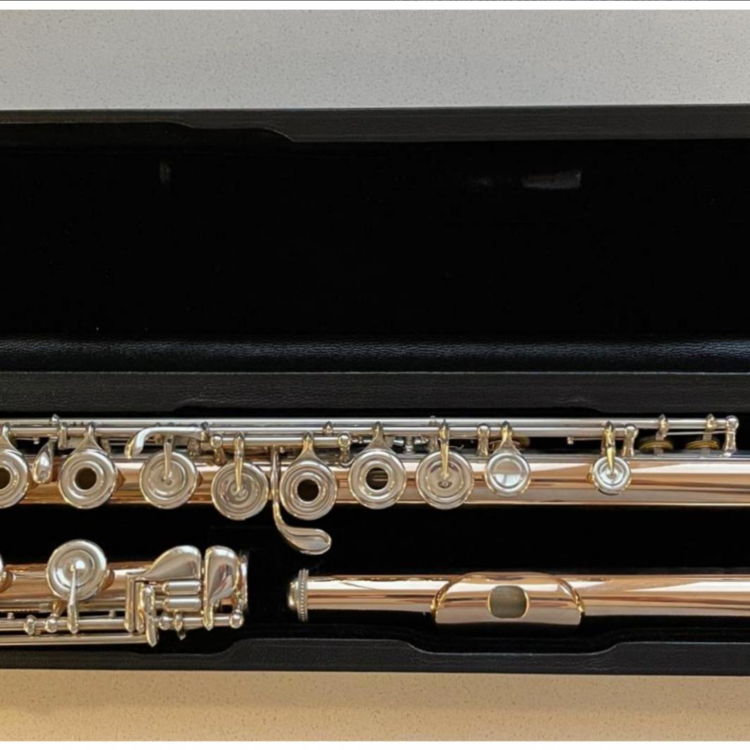 Powell 9k Aurumite 3100 Flute - Open Holes, B-Foot