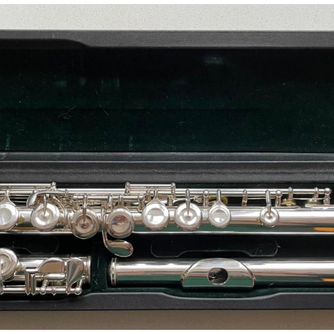 Pearl PF-665 Quantz Flute - Closed Holes, Split E, C-Foot