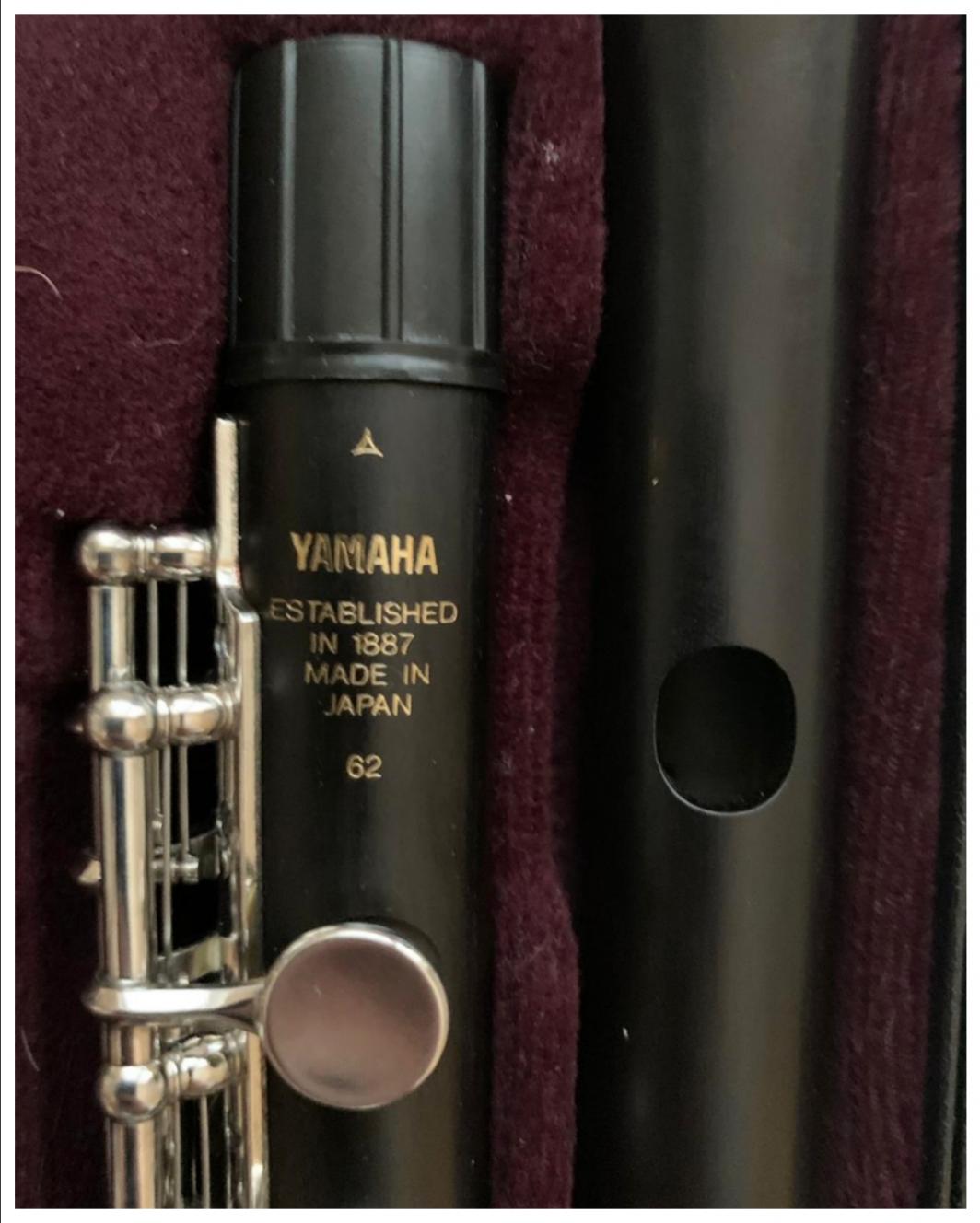 Yamaha YPC-62 Grenadilla piccolo
