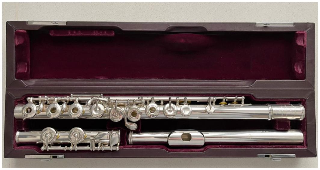 Muramatsu SR Solid Silver Flute - Open Holes, C-Foot