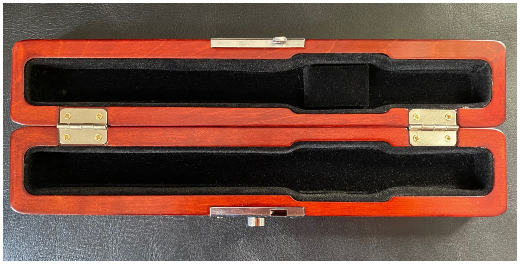 Wooden flute Headjoint case - New
