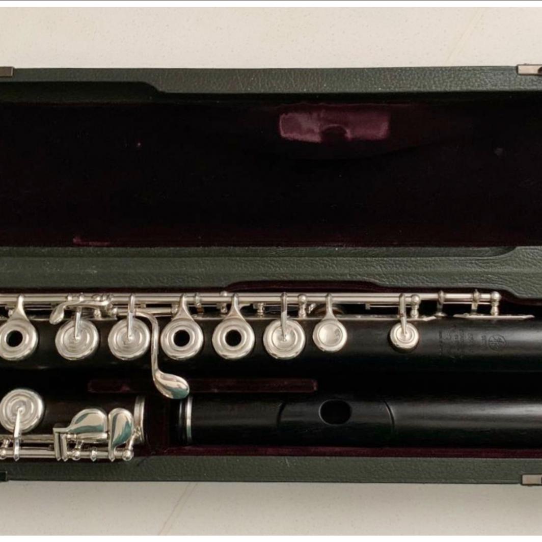 Yamaha 884W wooden Flute - Open Holes, C-Foot