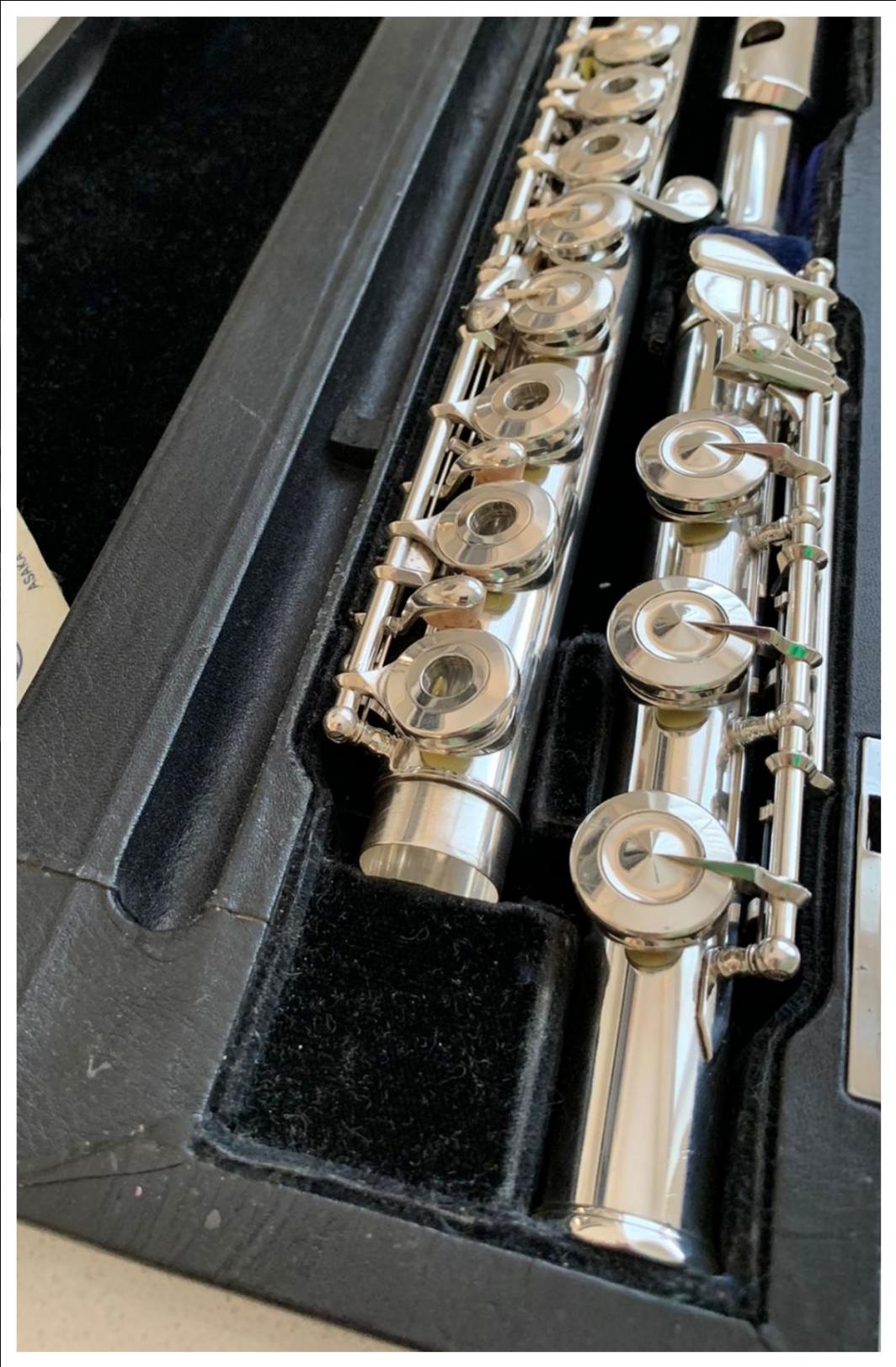 Miyazawa Type 2 SS Flute - Open Holes, B-Foot