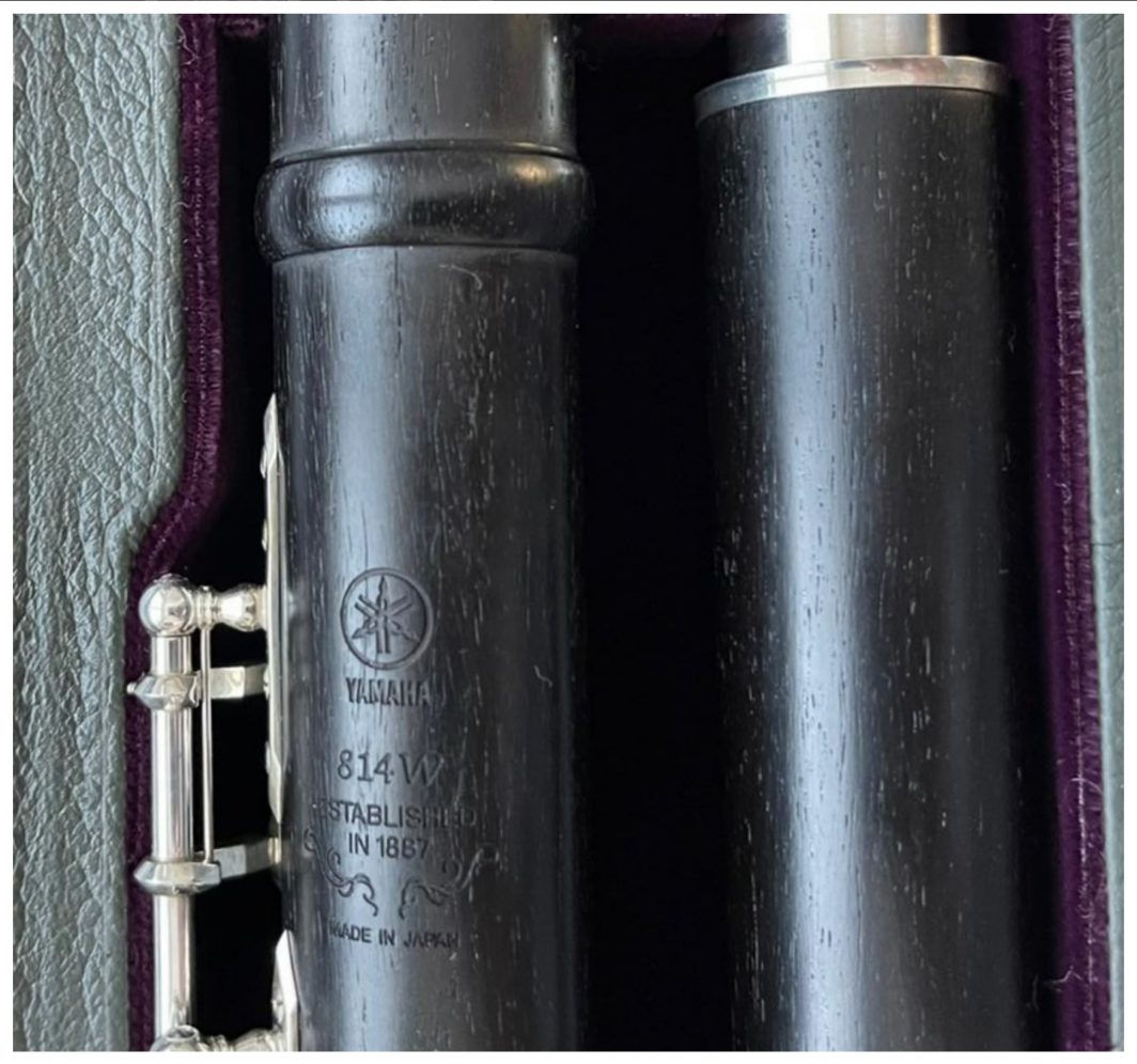 Yamaha 814W wooden Flute - Closed Holes, B-Foot