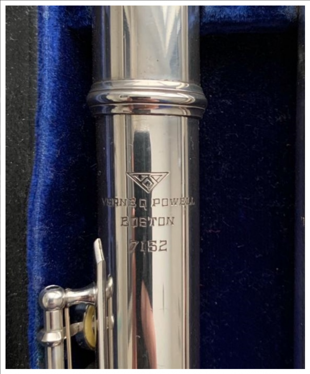 Powell Custom Solid Silver Flute - Open Holes