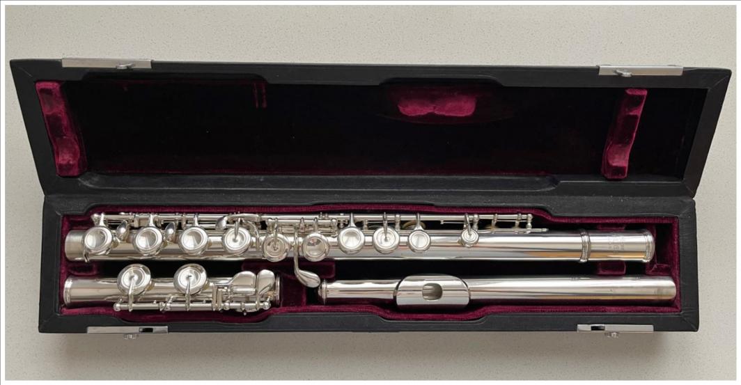 Nikkan Yamaha YFL-63 Flute (Solid Silver)