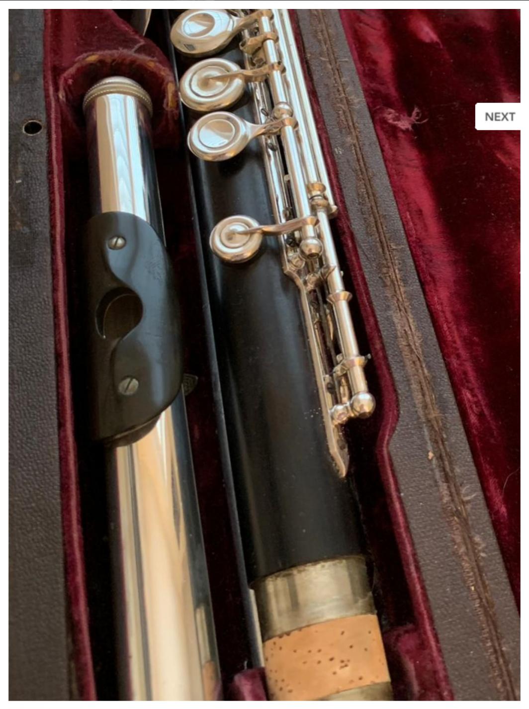 Philipp Hammig Wooden Flute - Closed Hole