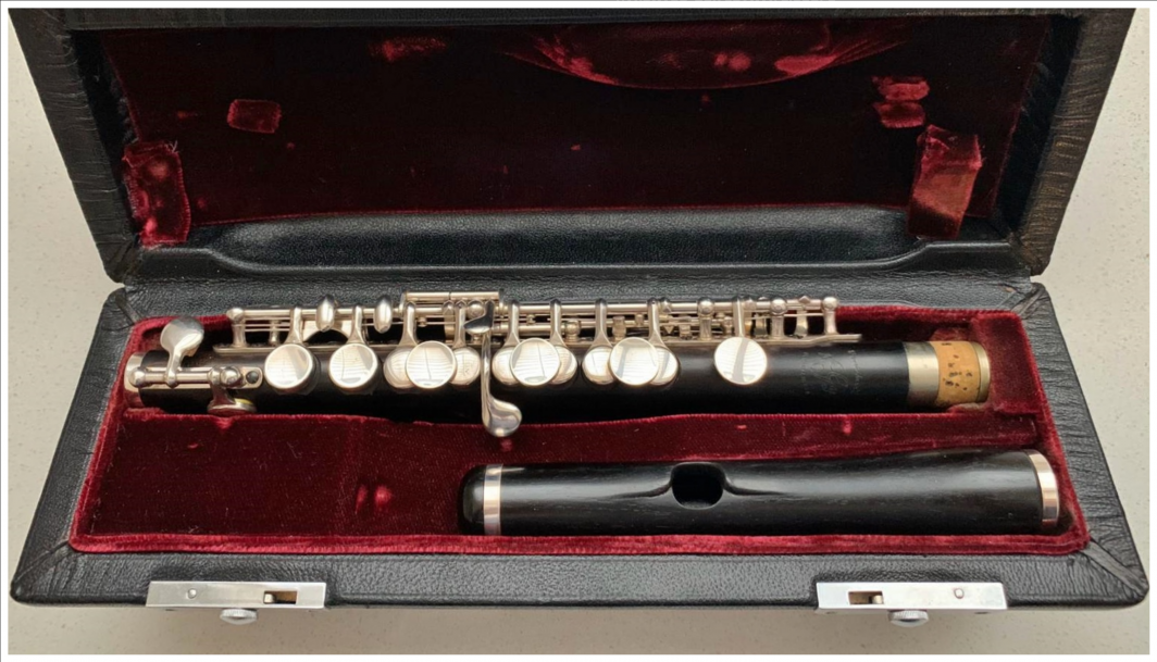 Roy Seaman piccolo for sale with reform lip