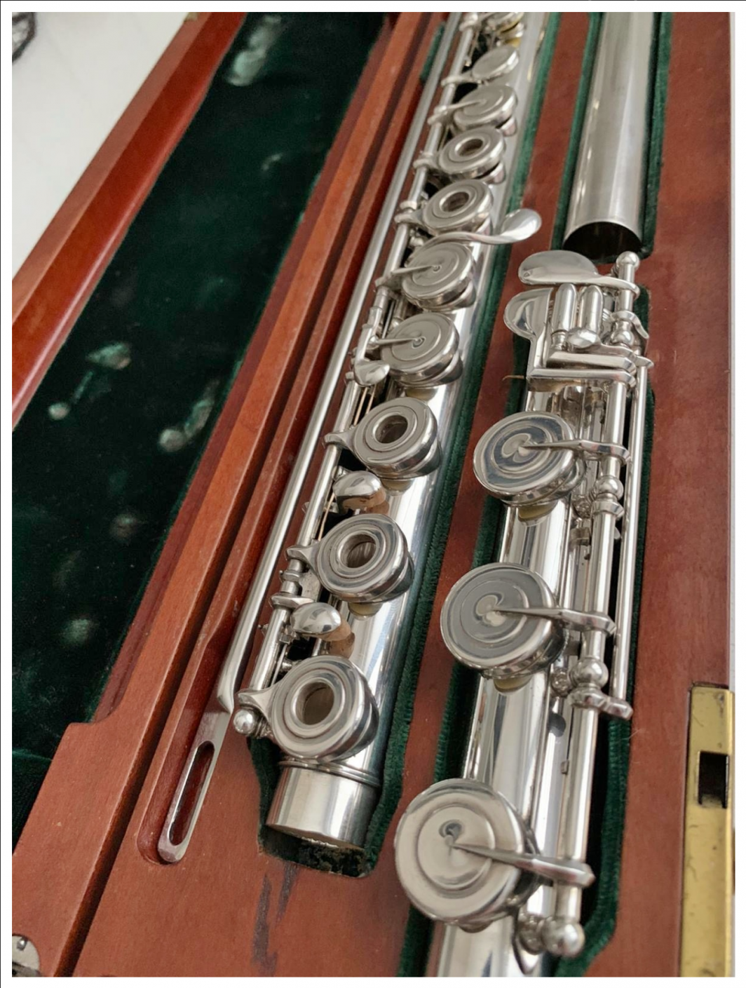 Tip Lamberson Flute for sale (18K lip)