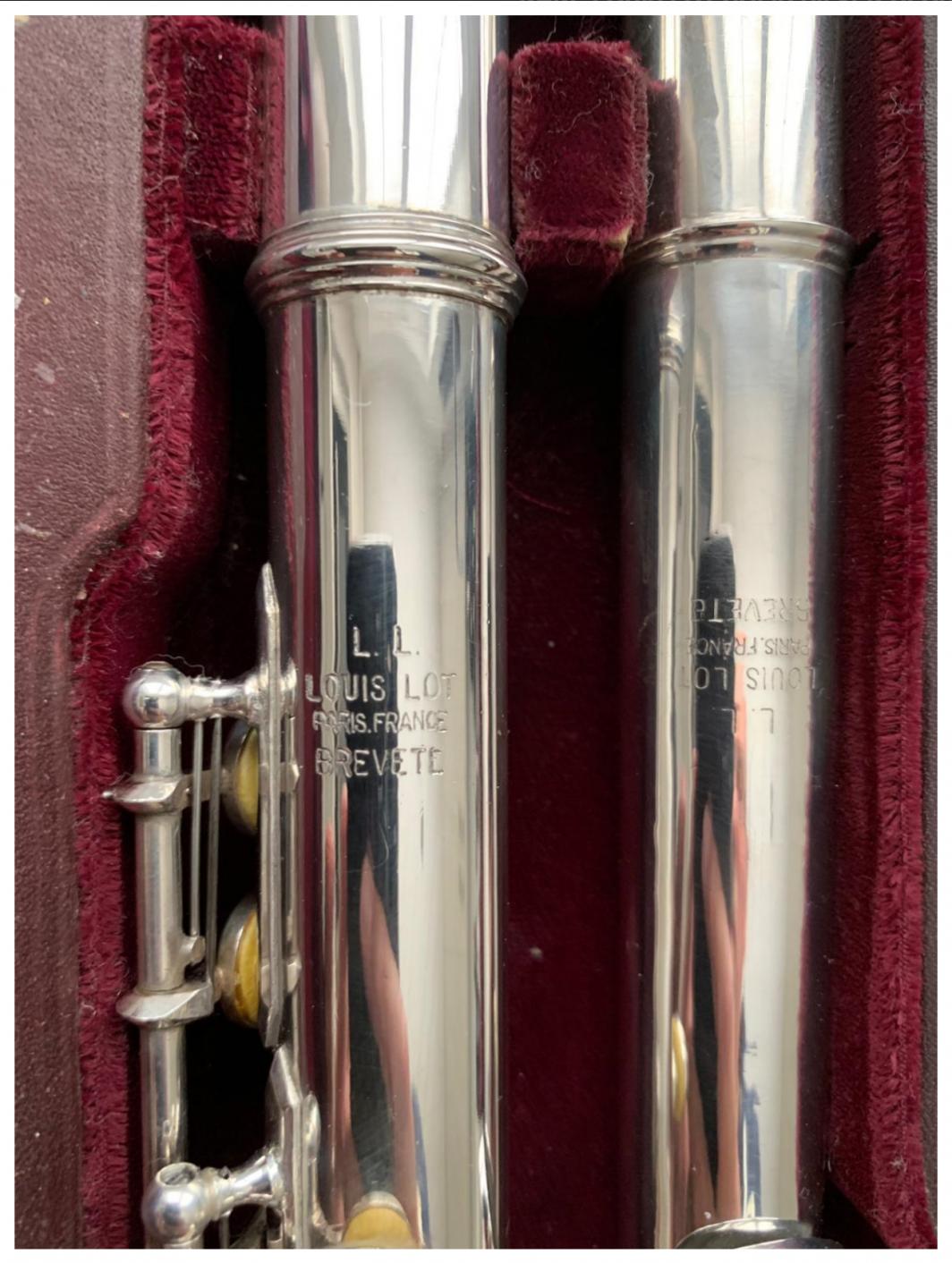 Louis Lot flute for sale