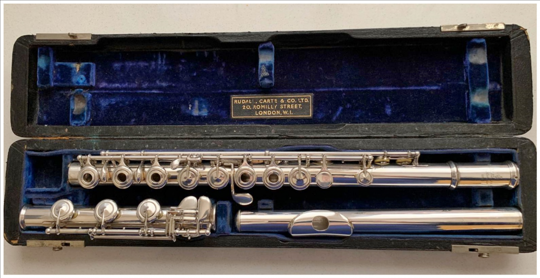 Rudall Carte Solid Silver Flute - Open Holes