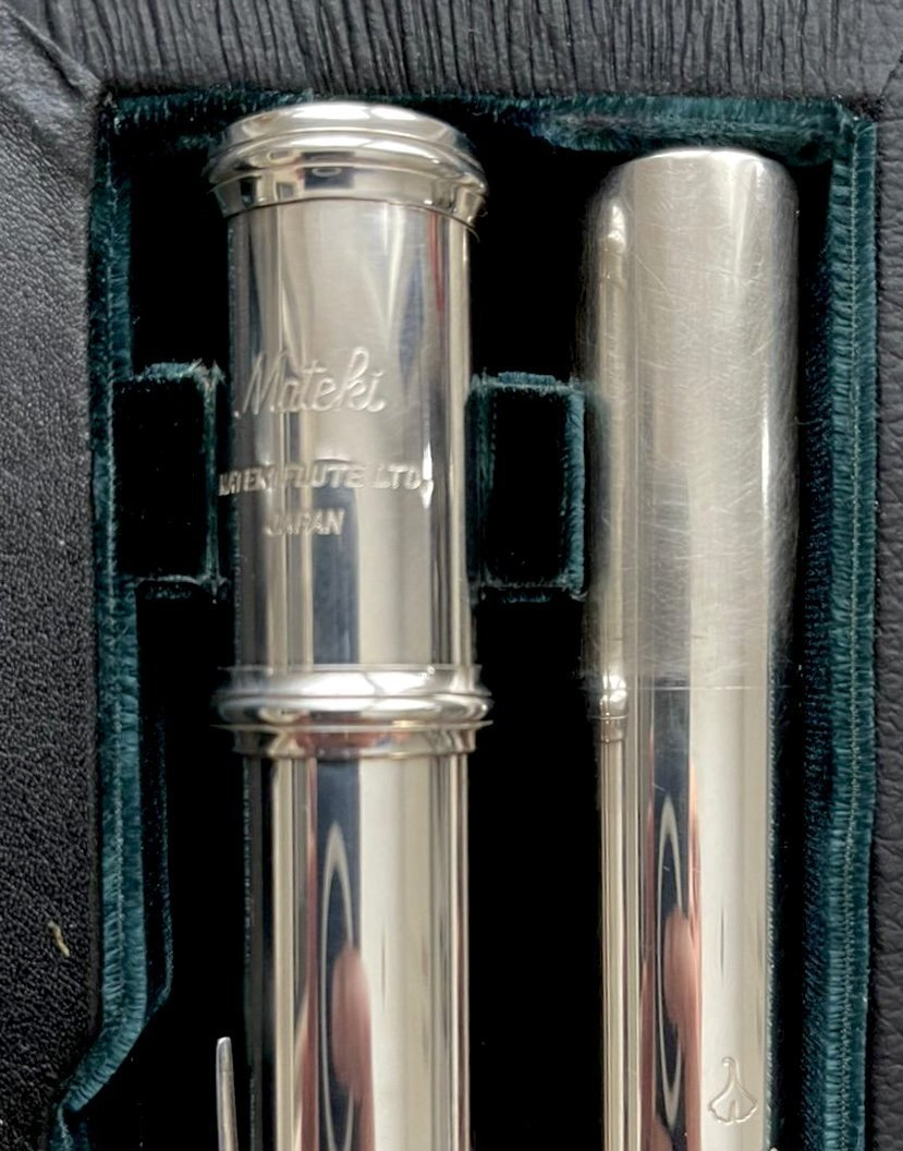 Mateki M0-002 Solid silver head flute for sale