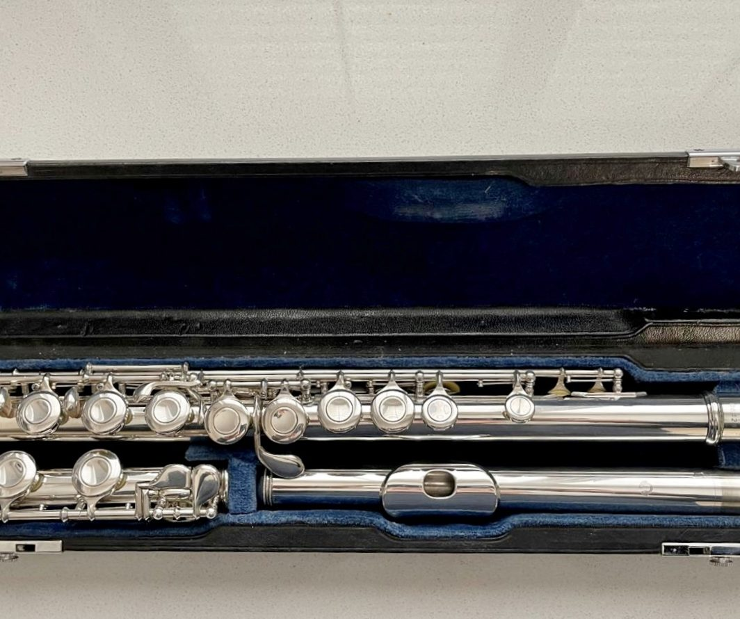 Muramatsu solid silver flute - ST model