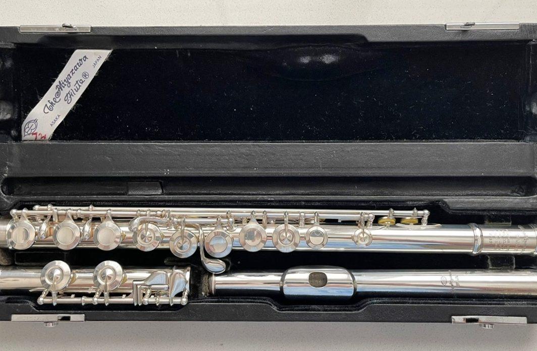 Miyazawa Type-1 solid silver closed-hole flute